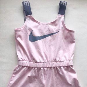 Nike Girl's Jumpsuit Romper Shorts || Sz XS 4